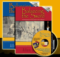 About the Books of the Balancing the Sword Study Package by